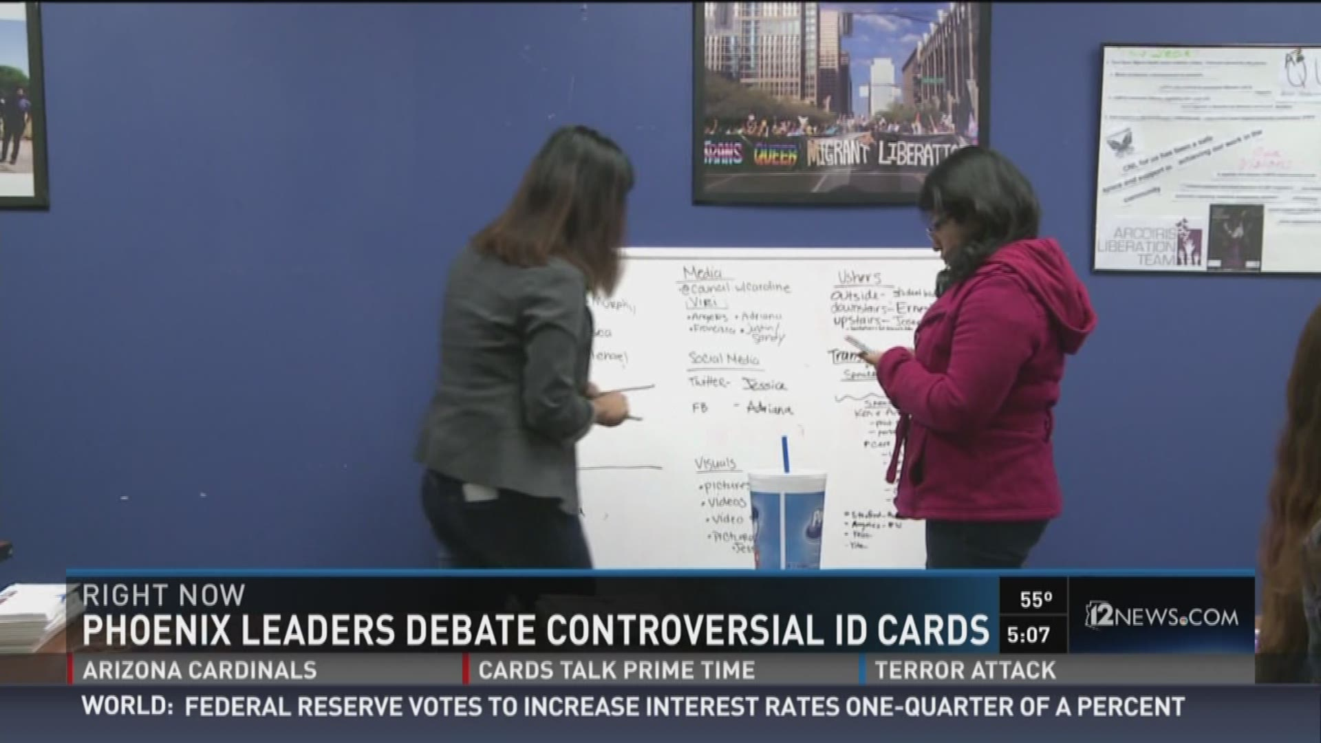 Phoenix leaders debate controversial ID cards
