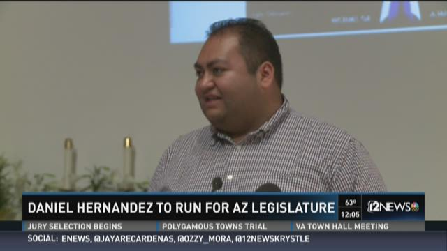 Daniel Hernandez to run for AZ Legislature