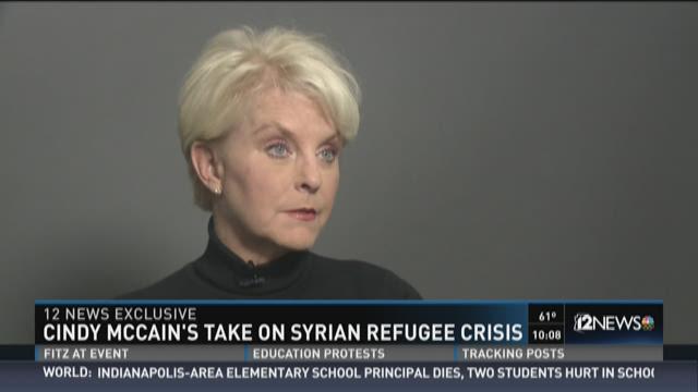 Cindy McCain, Jan. 26, 2016.
