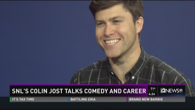 Colin Jost interviews with KPNX's Bryan West ahead of his stand-up comedy show.