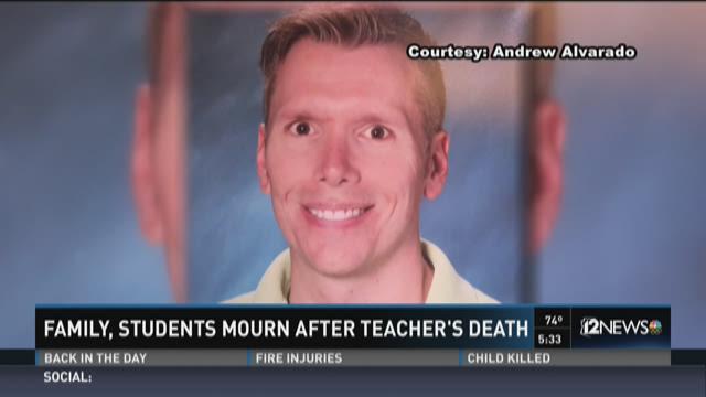 Sudden death of 8th grade Peoria teacher impacts many
