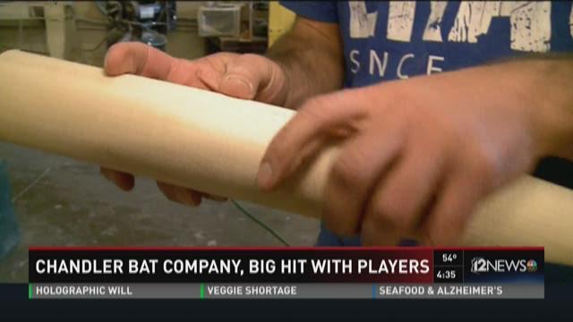 Zinger Bats, a wood bat company in Chandler, AZ is