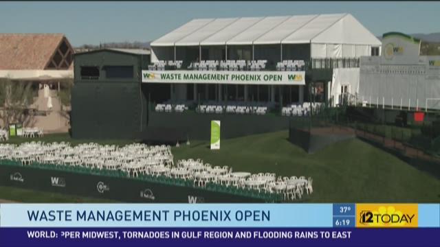 The Waste Management Phoenix open