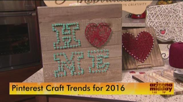 Valentine's Day Pinterest Crafts