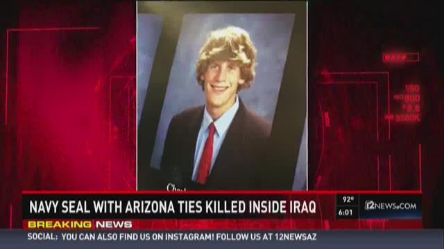 Navy Seal with Arizona ties killed inside Iraq