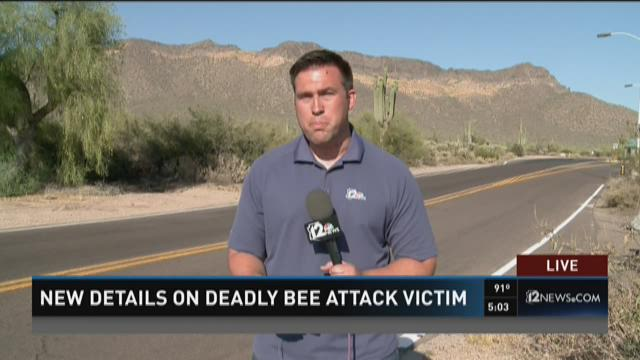 New details on deadly bee attack on victim