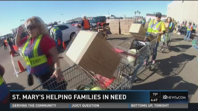 St Mary S Helping Families In Need 12news Com