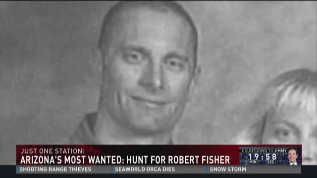 Arizona's most wanted: Hunt for Robert Fisher