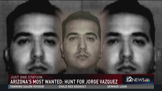 Arizona's Most Wanted: hunt for Jorge Vazquez