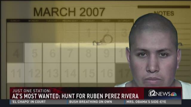 Arizona's Most Wanted: Ruben Perez Rivera