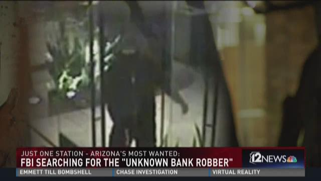 FBI searching for the 'unknown bank robber'