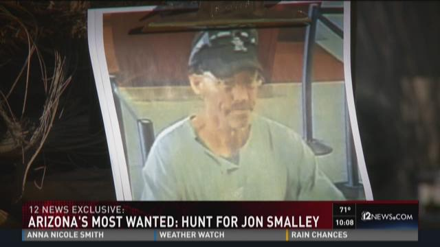 Arizona's most wanted: hunt for Jon Smalley