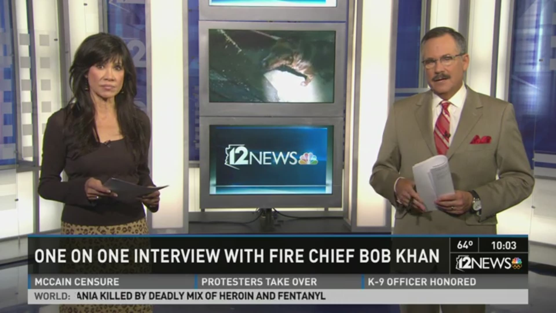 One-on-one interview with Chief Bob Khan, unaware of misconduct