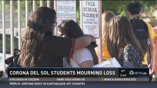 Corona del Sol students mourning loss
