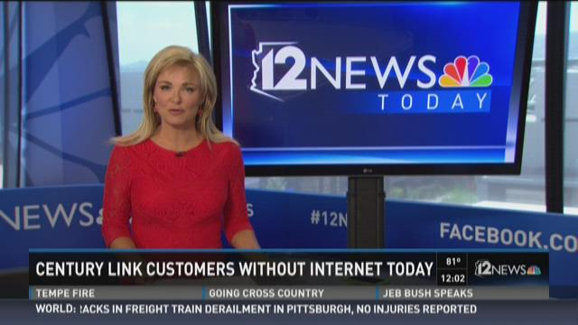 Centurylink Arizona hit with internet outage