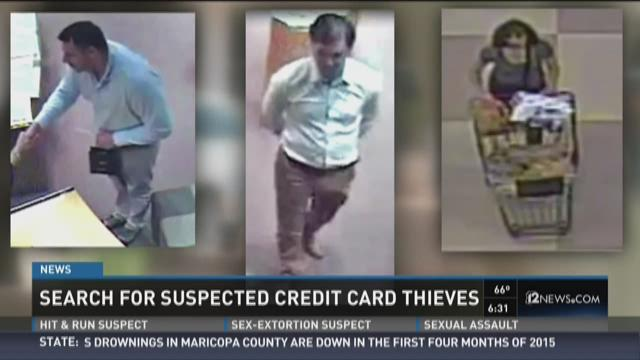 Search for suspected Chandler credit card thieves