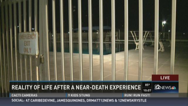 Scottsdale mom shares her near drowning story