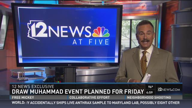 Draw Muhammad event planned for Friday