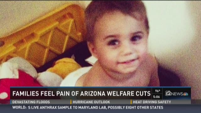 Families feel pain of Arizona welfare cuts