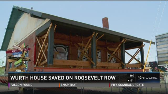 Neighbors rally to save historic Roosevelt Row home