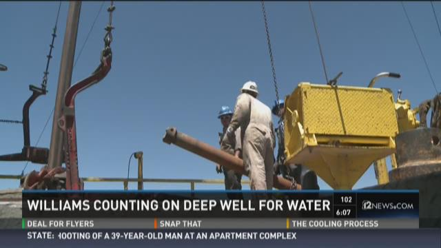 Williams counting on deep water well for supply