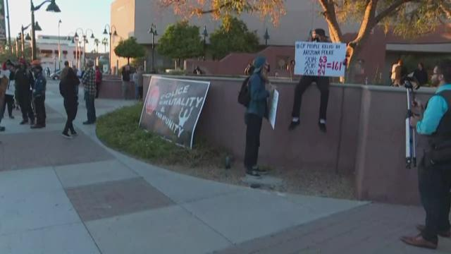mesa rally for justice held for daniel shaver 12news com