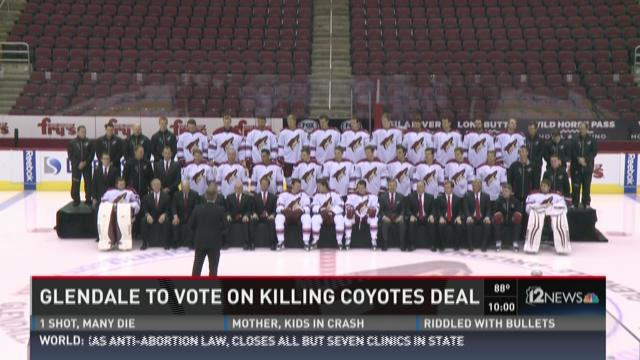 Glendale to vote on killing coyotes deal