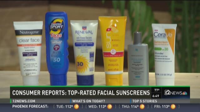 Consumer Reports: Top rated racial sunscreens