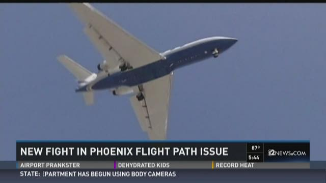 New fight in Phoenix flight path issues