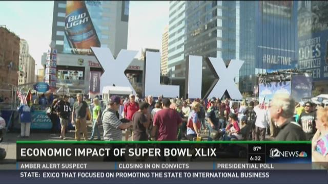 analysis of impact of super bowl Economics of the super bowl by  of economic impact analysis exclude spending by local residents from final economic impact numbers super bowl  2009.