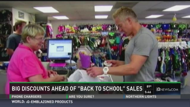 Back to school shopping is here