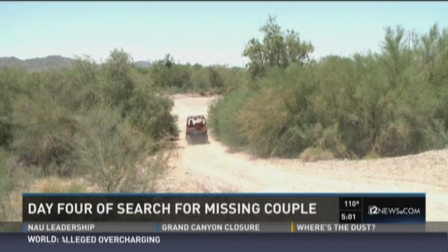 Day four of search for missing couple