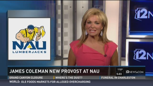 James Coleman named new provost at NAU