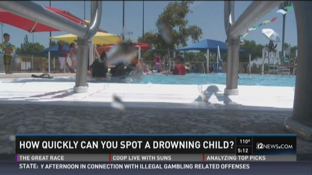 How quickly can you spot a drowning child?