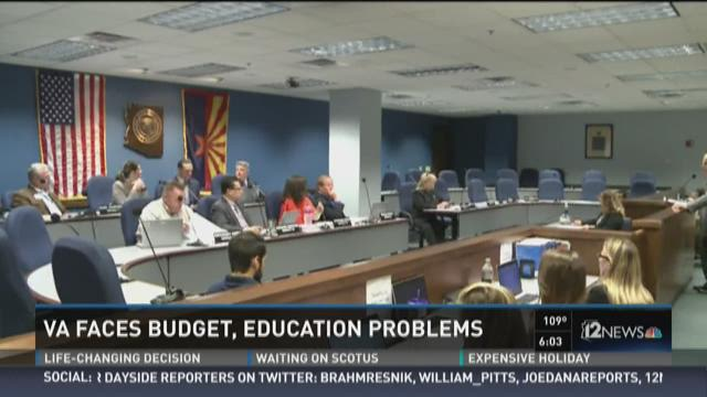 VA faces budget, education problems