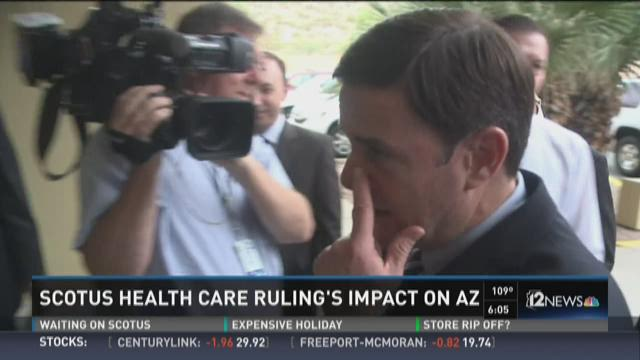 SCOTUS health care ruling's impact AZ