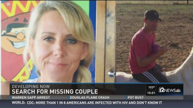 Search for missing couple