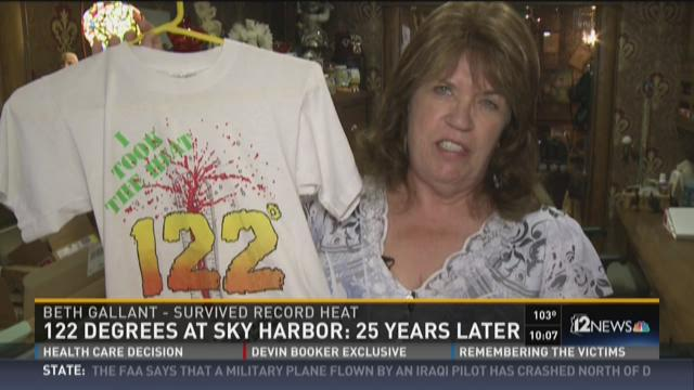 122 degrees at sky harbor: 25 years later