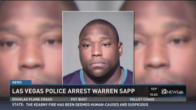 NFL Hall of Famer Warren Sapp charged with domestic battery
