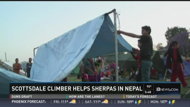 Scottsdale climber raising money for Nepal Sherpas