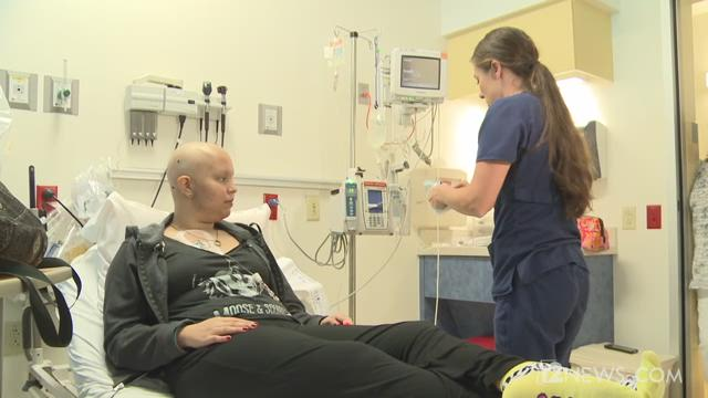 18-year-old Victoria relies on blood donations to help keep her alive