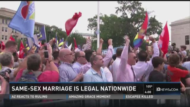 Valley families celebrate marriage equality