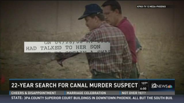 22-year search for canal murder suspect