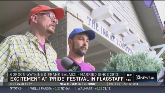 Excitement at 'Pride' Festival in Flagstaff