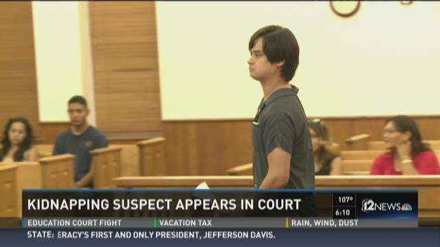 Kidnapping suspect appears in court