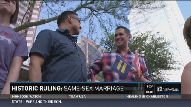 Historic ruling: Same-sex marriage