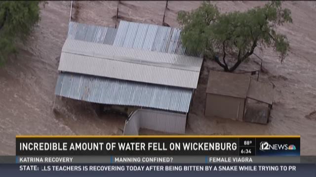 The day Wickenburg was underwater