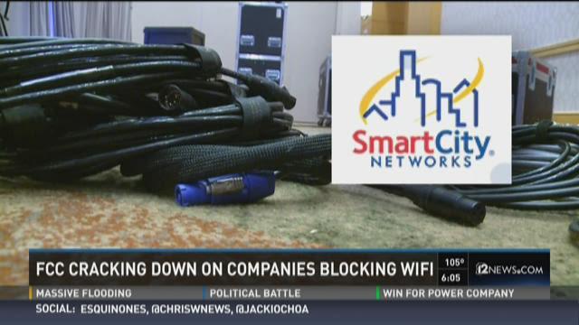 FCC cracking down on companies blocking WiFi