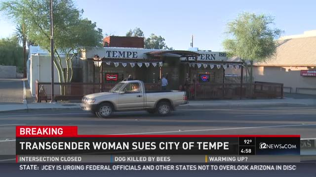 Transgender lady sues city of Tempe