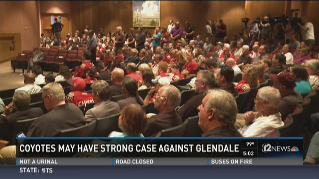 Coyotes may have strong case against Glendale